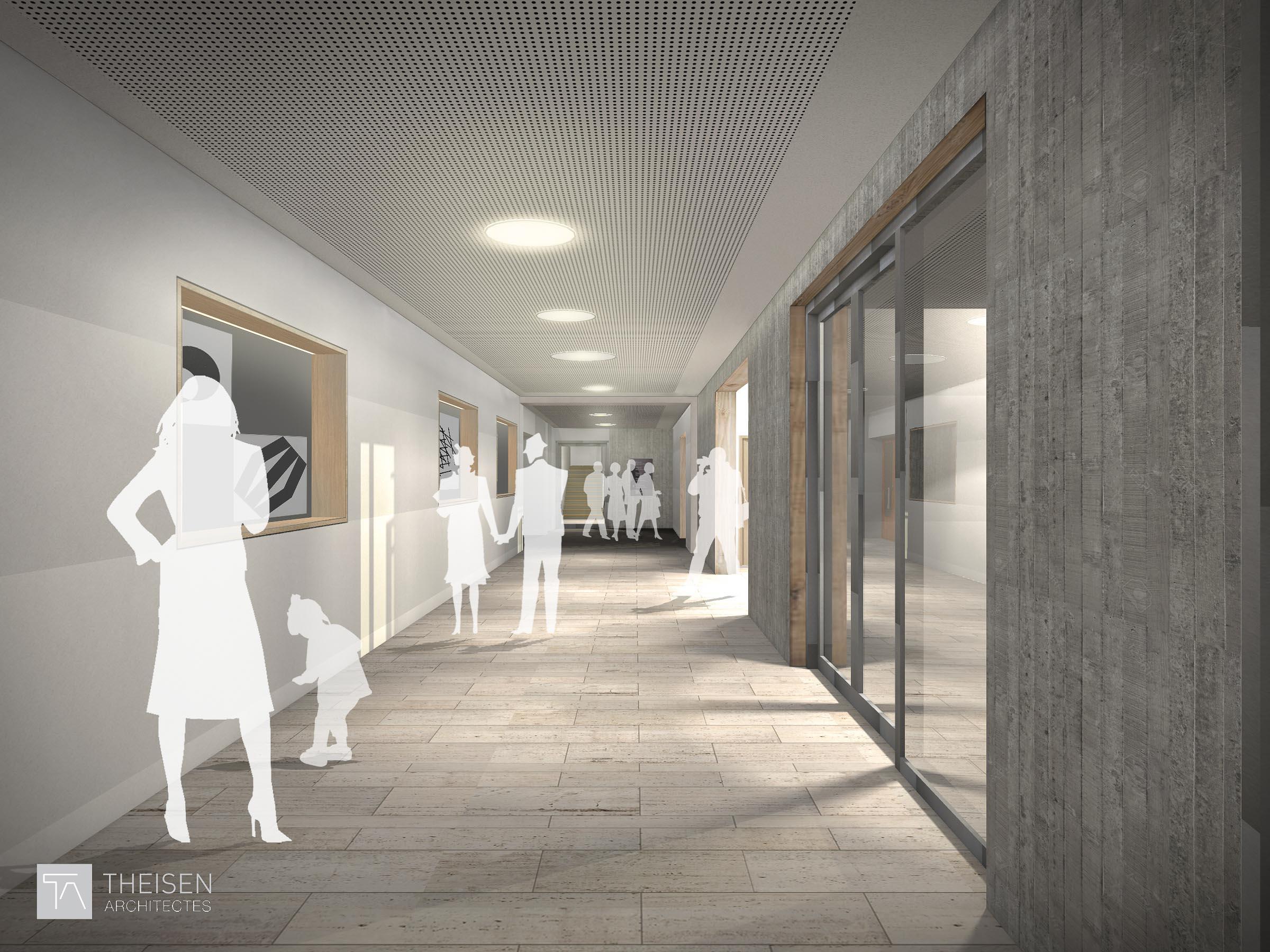 Nouveau batiment Chambre Salaries et renovation du casino syndical 23