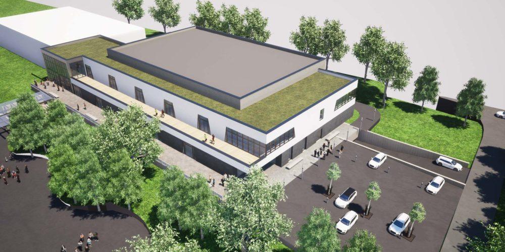 Réalisation d'un complexe sportif pour la commune de Dalheim